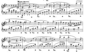 Chopin Ballade Theme II